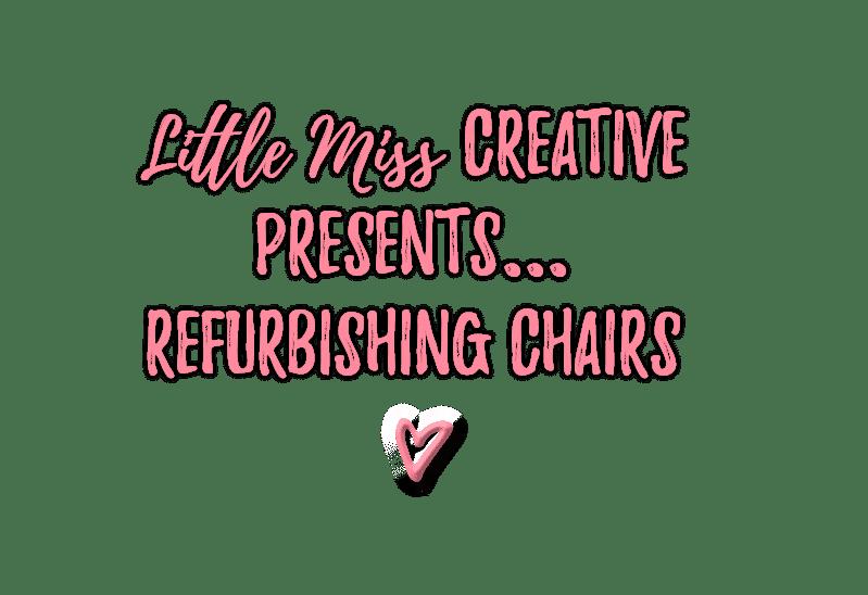 Refurbishing Dining Room Chairs