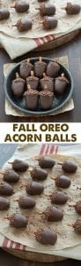 Acorns for Fall Party