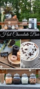 Hot Chocolate Bar for Fall