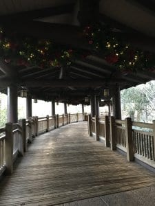 Walkway to Disney Vacation Club Area