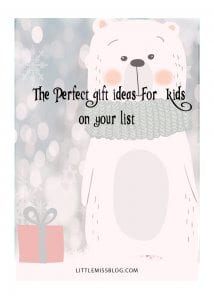 Perfect Gift Ideas for Kids in Your Life