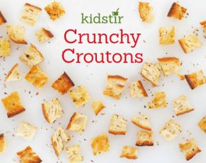 Crunch Croutons kids recipes littlemissblog.com
