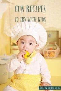 Recipes with Kids littlemissblog.com
