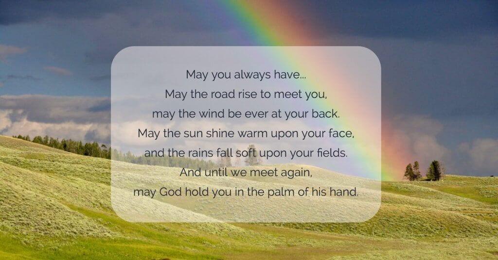 St Patricks Day Prayer littlemissblog.com