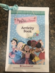 Wellie Wisher Activity Book for birthday party