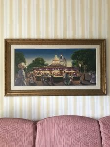 Art of boardwalk inside Boardwalk Inn Resort Room
