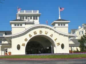 Disney's Boardwalk Resort Front Entrance