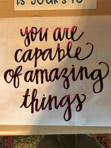 You are capable of amazing things quote