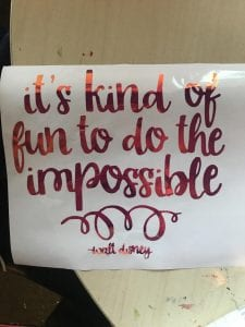 It's Kind Of Fun To Do The Impossible quote