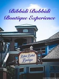 Bibbidi Bobbidi Boutique Overview