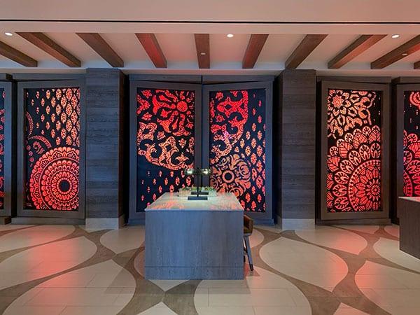 Lobby area Gran Destino Tower
