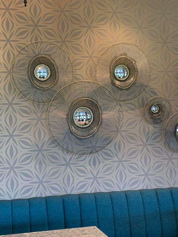 Wall in Chronos Club