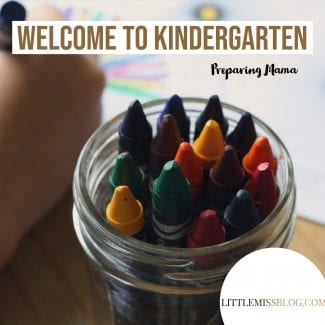 Welcome to Kindergarten feature