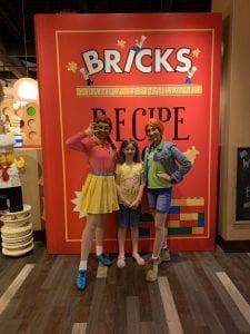 Lego Friends at Bricks Breakfast