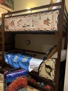 Bunk Beds inside room at Legoland Resort Florida