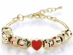 Emoji Bracelet for Valentines Day