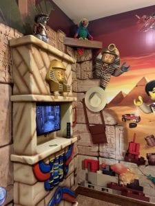 TV Area inside Legoland Hotel Room