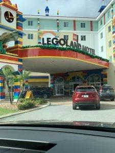 Front of Legoland Hotel
