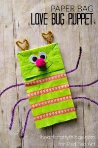 Paper Bag Valentine Craft