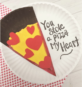 Pizza Craft for valentines day