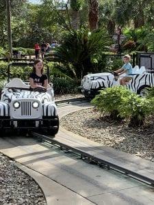 Safari Land Cars at Legoland Florida Themepark