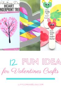 12 Fun Valentine Craft Ideas Pin