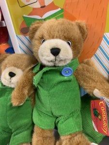 Corduroy Bear at Sweet Petes