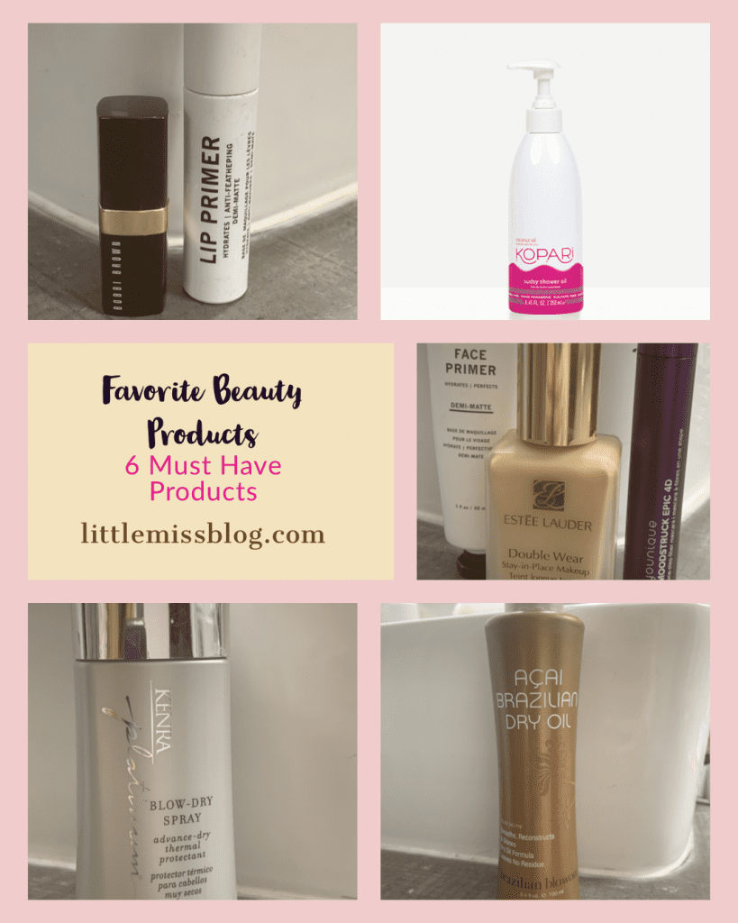 Favorite Beauty Product - 6 Must Have Favorites