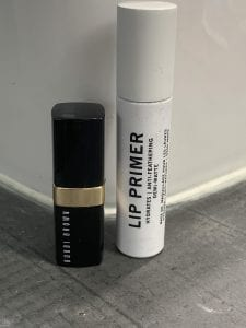 Must Have Beauty Products - Heir Atelier Lip Primer and Bobbi Brown Lipstick