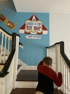 Up to the Toy Shop