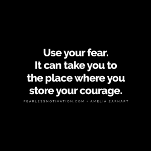 Use Fear Amelia Earhart Quote