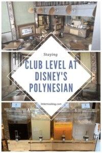 Club Level At Disney's Polynesian Village Resort