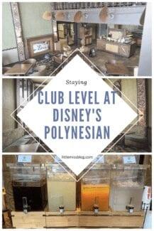 Club level at Disney's Polynesian Resort