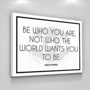 Be Who You Are Quote Coco Chanel