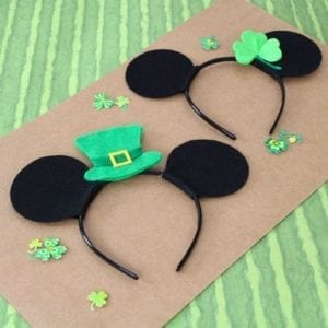 Mickey and minnie headbands