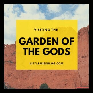 Visiting the Garden of the Gods Feature
