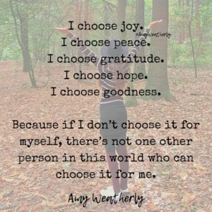 Amy Weatherly Quote