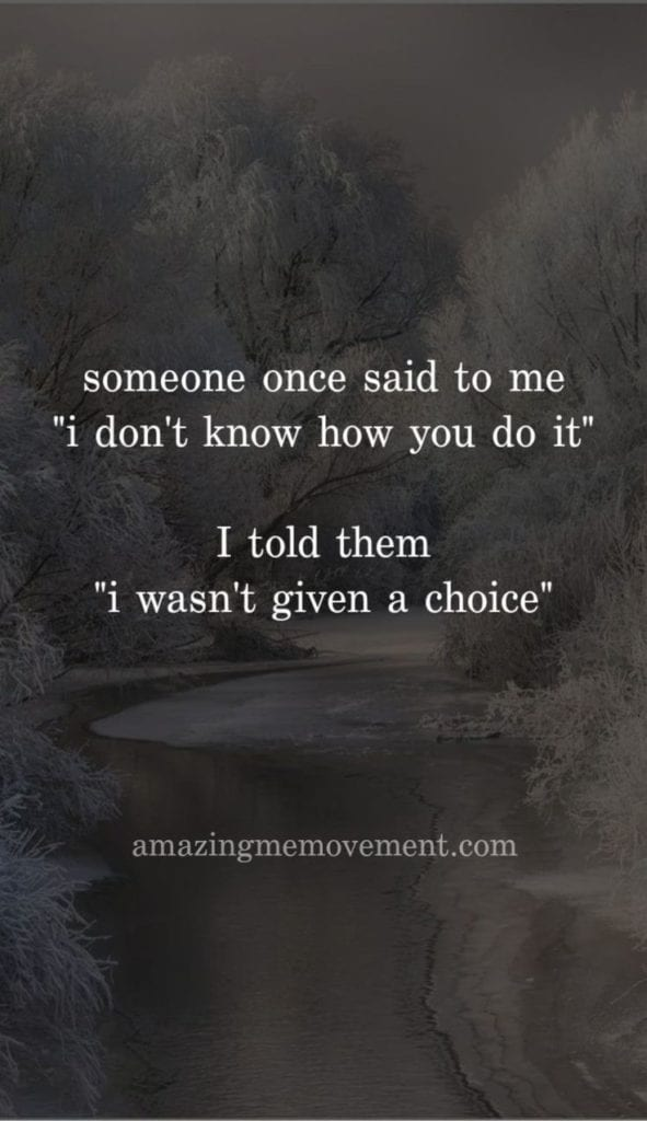 Wasn't given a choice quote