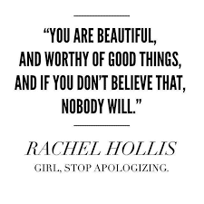 You Are Beautiful Quote- Rachel Hollis