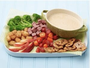 Cheese Fondue to make with kids