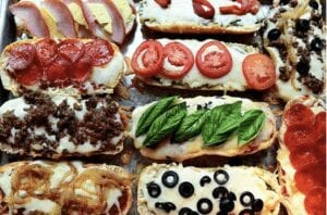 French Bread Pizza Ideas to make with kids