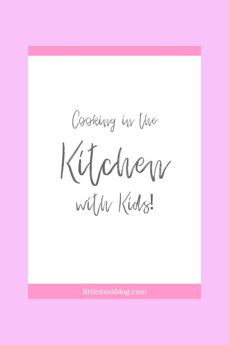 Cooking with Kids in the Kitchen pin