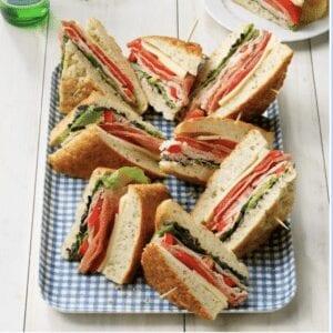 Foccacia Sandwiches