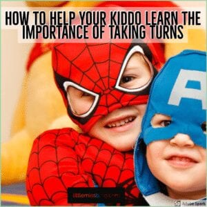 Helping your kiddo learn to take turns feature image