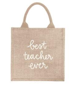 Best Teacher Ever Gift Bag from The Little Market