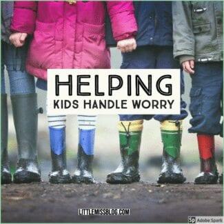 Helping Kids Handle Worry