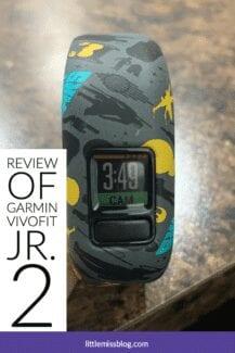 Review of Vivofit Jr 2