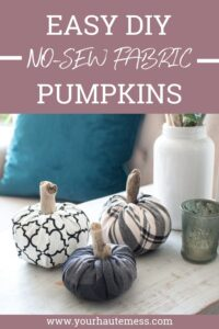Easy-No-Sew-DIY-Fabric-Pumpkins