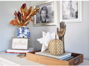 Fall Home Decorating by Katedecorates.co