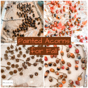 Pained Acorn Craft for Fall